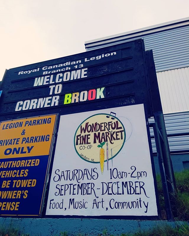 Saturday morning! And the Wonderful Fine Market is about to open up at the lower parts of the Legion! Pop down and have a look at our variety of vendors!  #localmarket #cornerbrook #nlmade #newfoundlandmade
