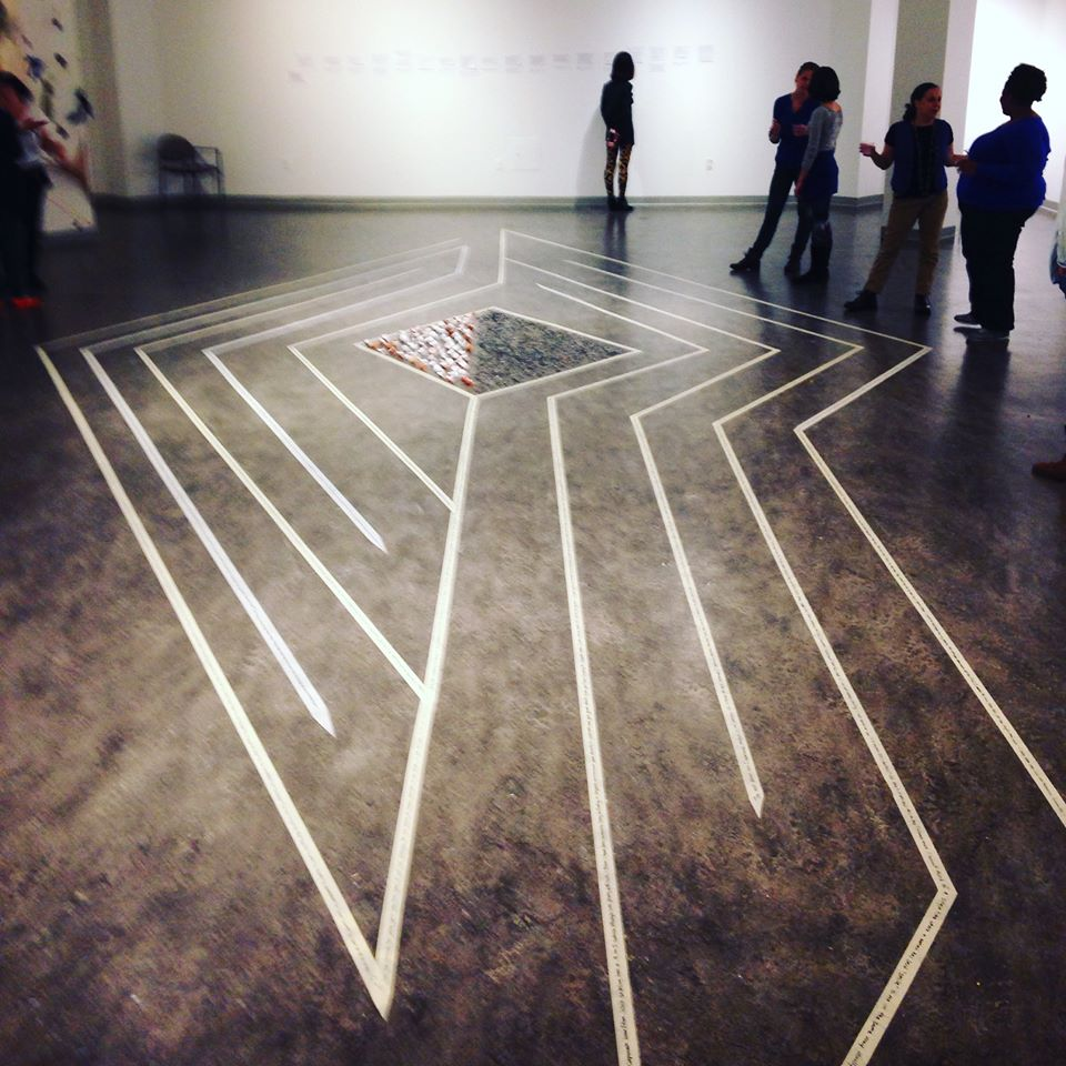 The Path We Walk, 2015, Vachon Gallery  Socially engaged art by Hanako O'Leary, Bess Butterworth, Claire Bancroft