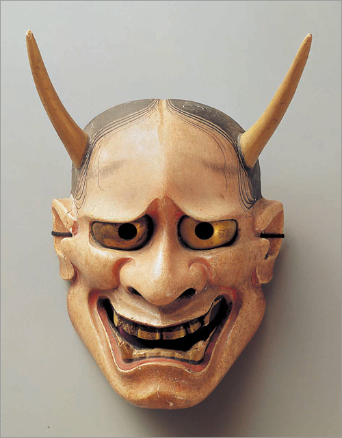 - Traditional Hannya mask. The oldest mask is dated 1558.