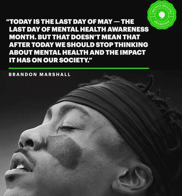 Mental Health Awareness! #beyondMay #share #thetomboibrunch #becauseladieslovesportstoo #sportsentertainmentandmimosas #realityradio #downloadthepodcastnow 📲 @playerstribune
