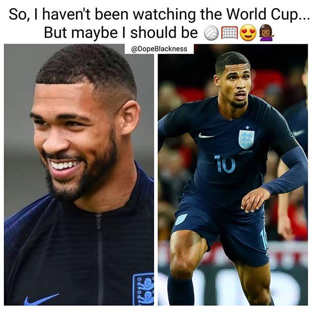 Daaaaaaaamn England!! I ❤️ Soccer, too!! #heisfiiiiiiine ⚽️ #RubenLoftusCheek #kickballs #worldcup #thetomboibrunch #becauseladieslovesportstoo #sportsentertainmentandmimosas #realityradio #callme @rubey_lcheek