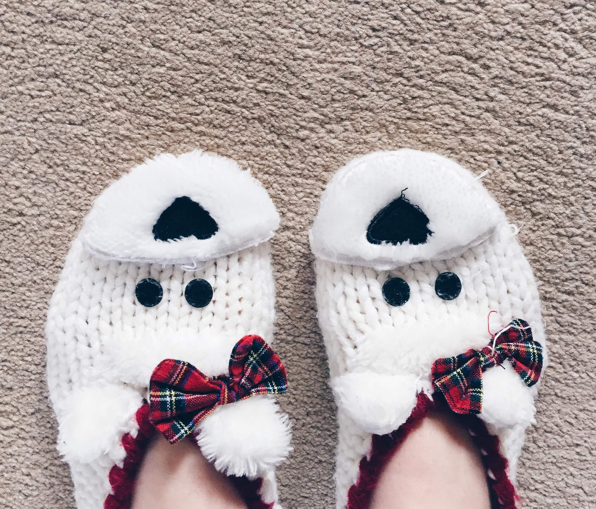 It's hit November and FREEZING at the same time - but that means getting comfy in my cute slippers so I don't mind.