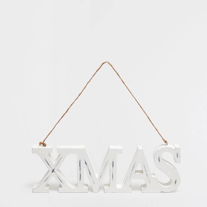 XMAS Letters Pendant Decoration