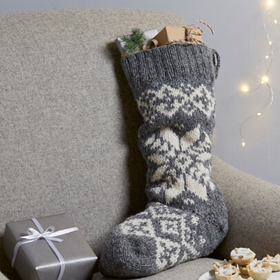Knitted Stocking
