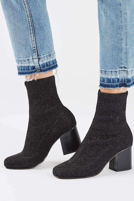 Topshop Black Sock Boot.jpg