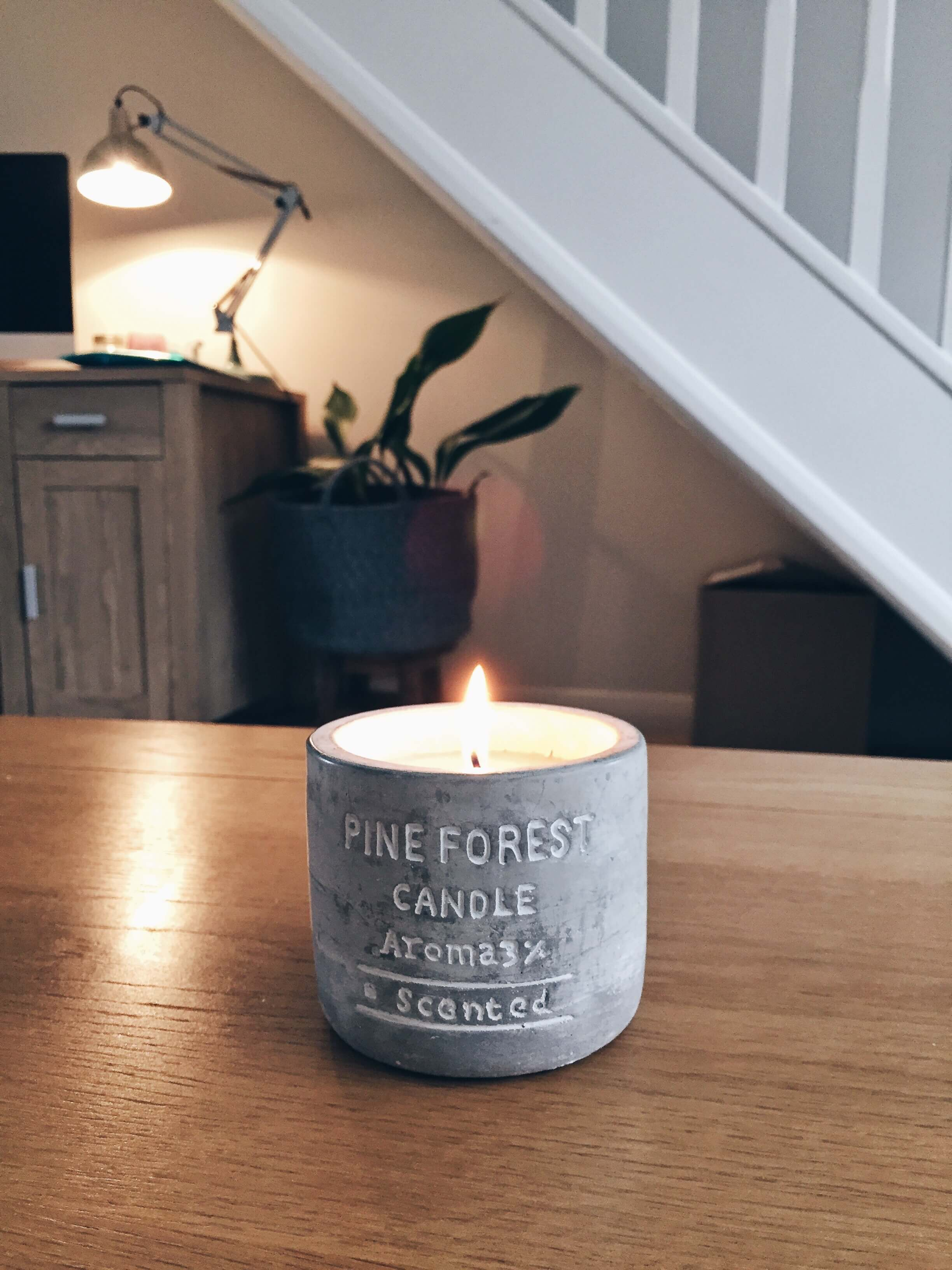 A H&M candle that I picked up