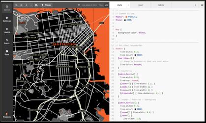 Mapbox styles like SF Giants