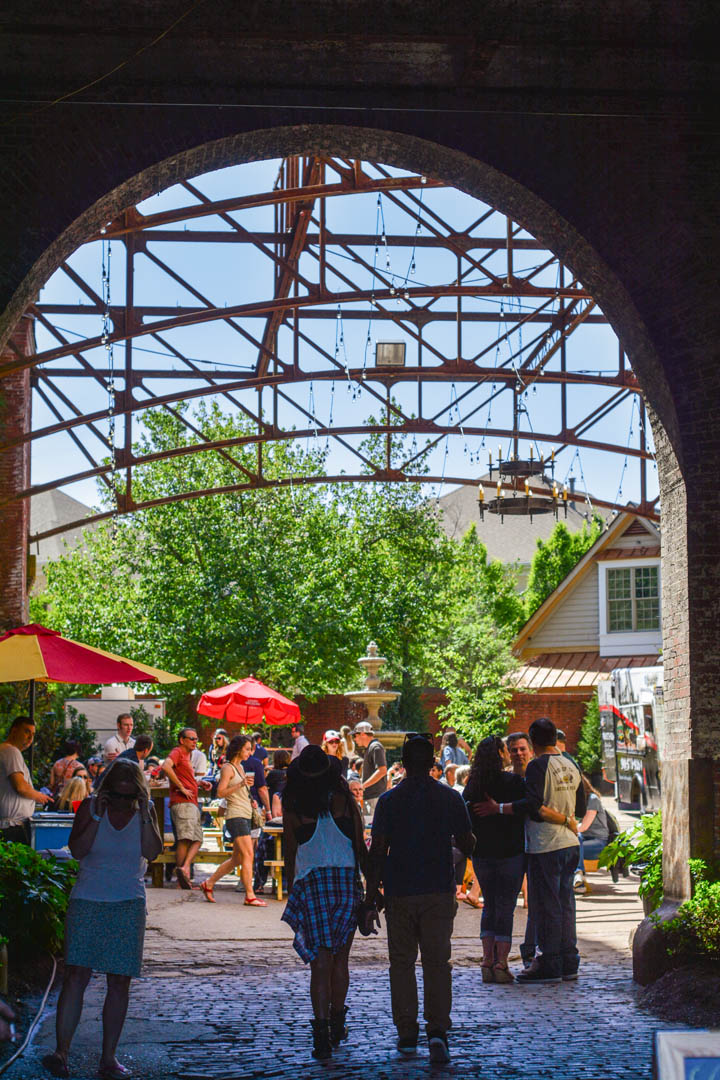 Beer Garden in Downtown Memphis, Tennessee