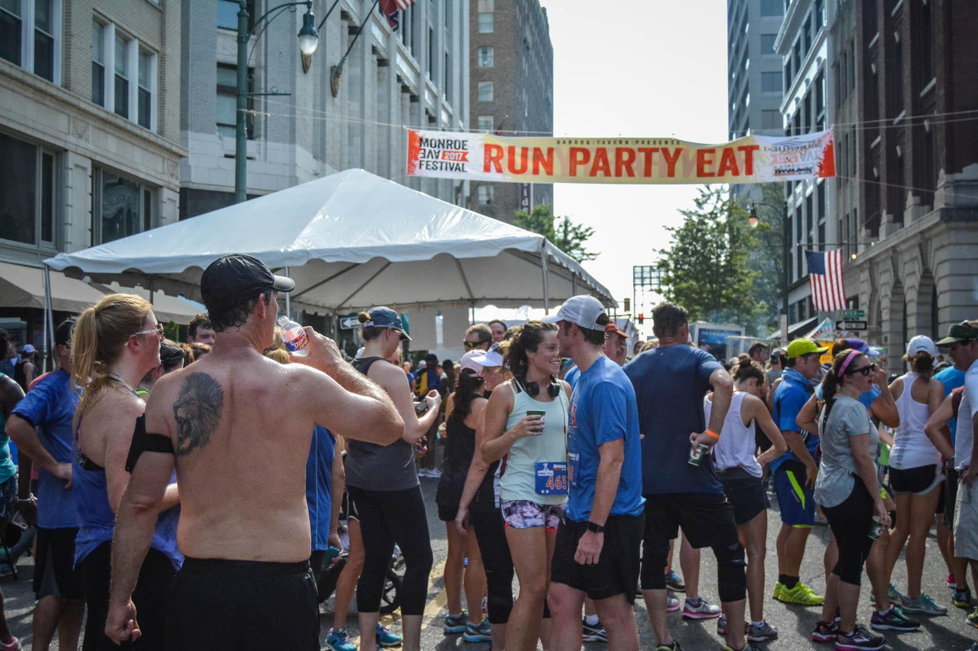 Run, Party, Eat