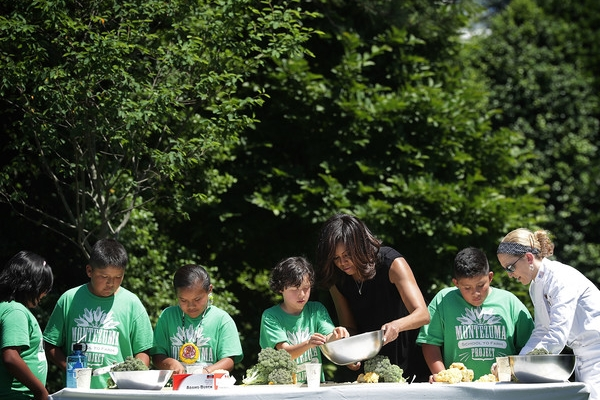 Kemper Students visit the White House Kitchen Garden - Twice!