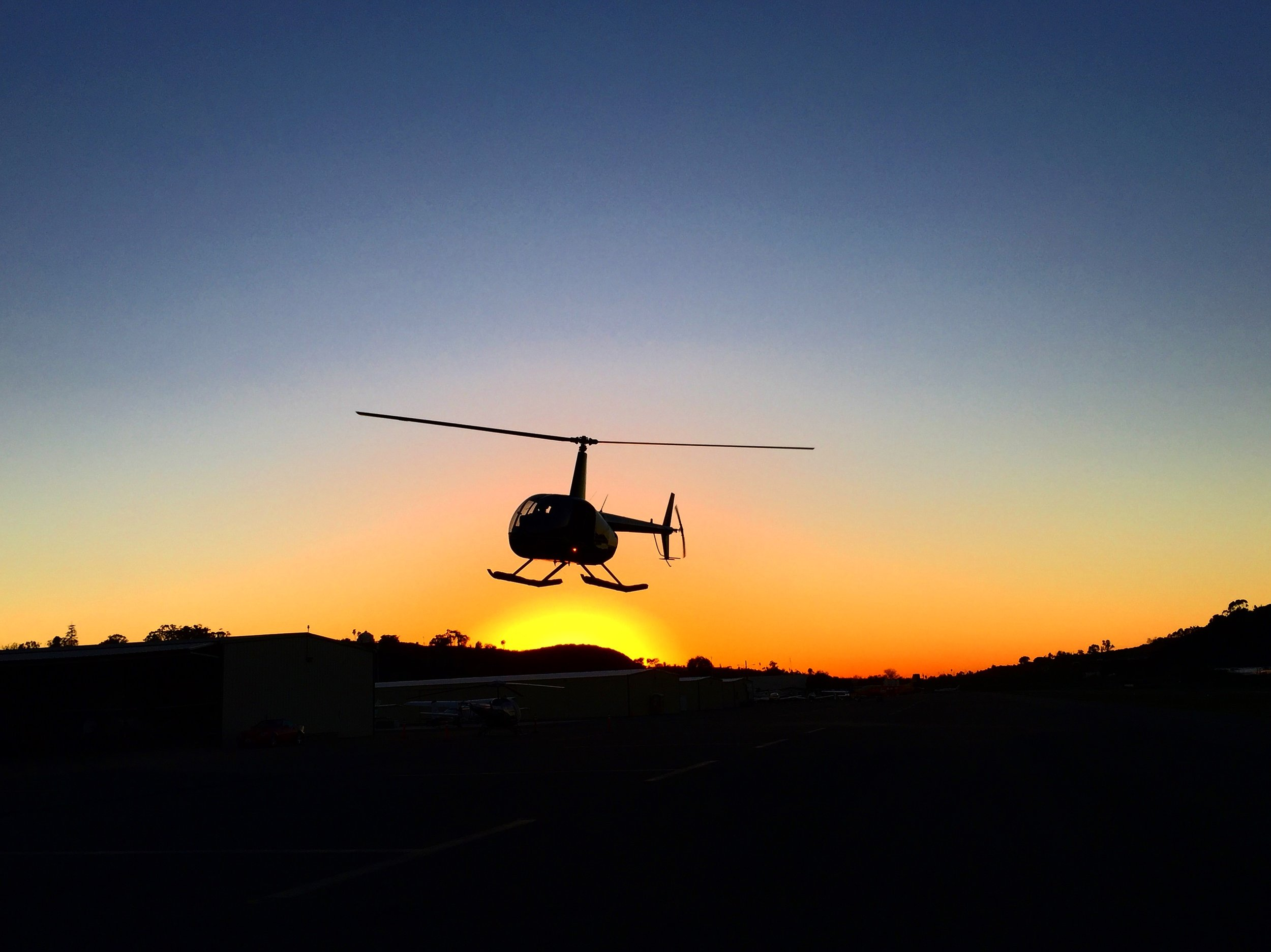 San Diego County Helicopter Sunset Tours
