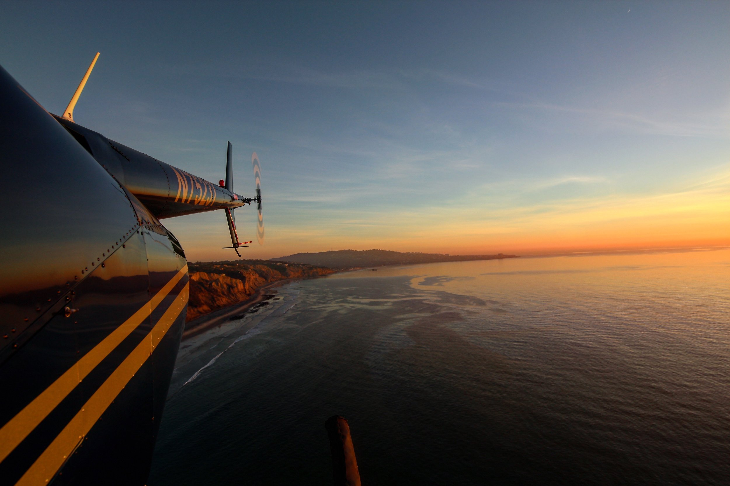 San Diego Coastal Sunset Air Tours