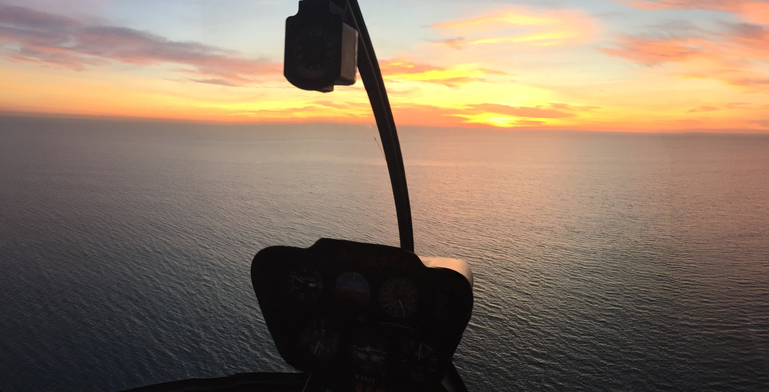 Sunset Helicopter Ride San Diego