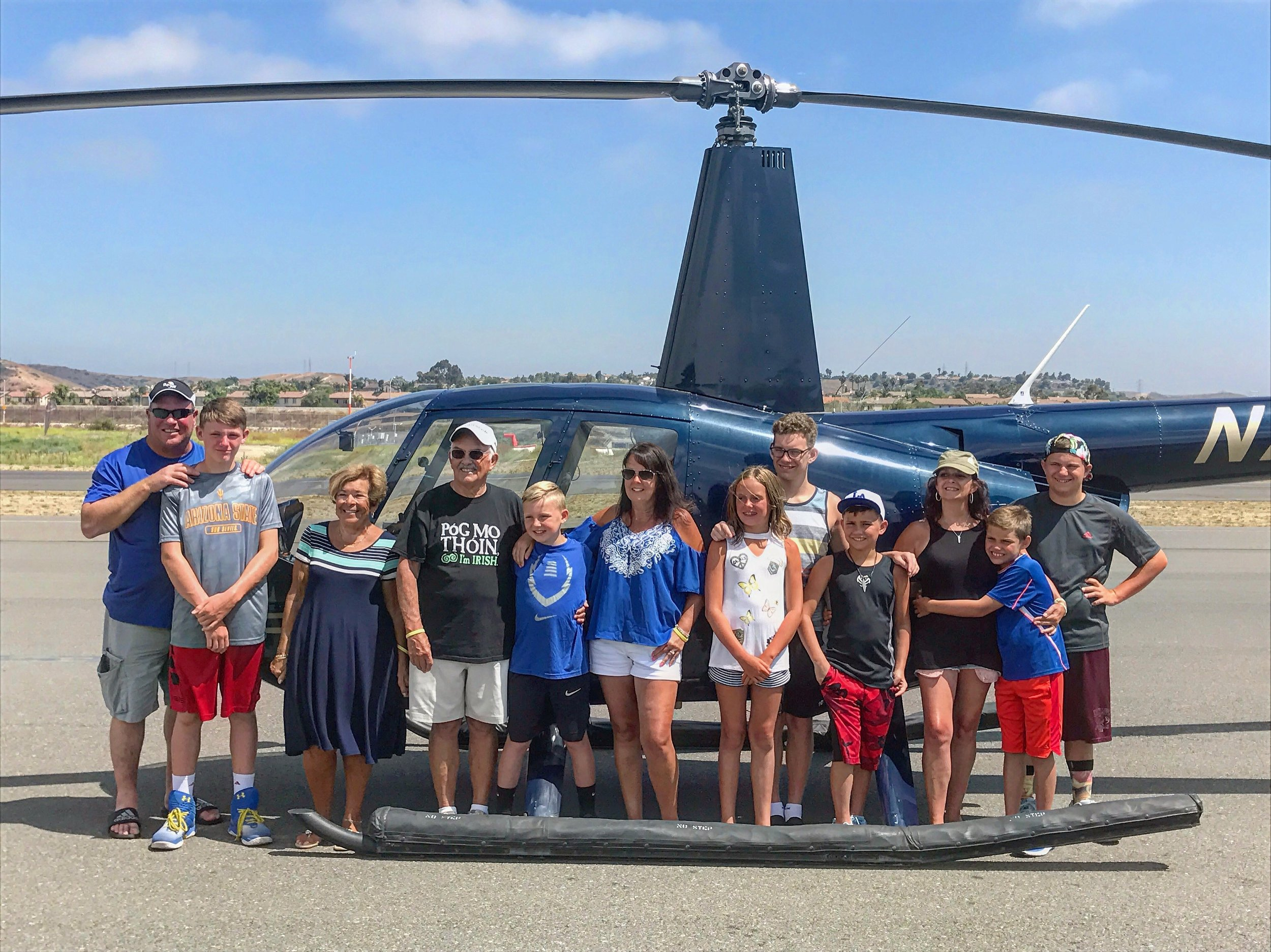San Diego County Helicopter Tours and Rides