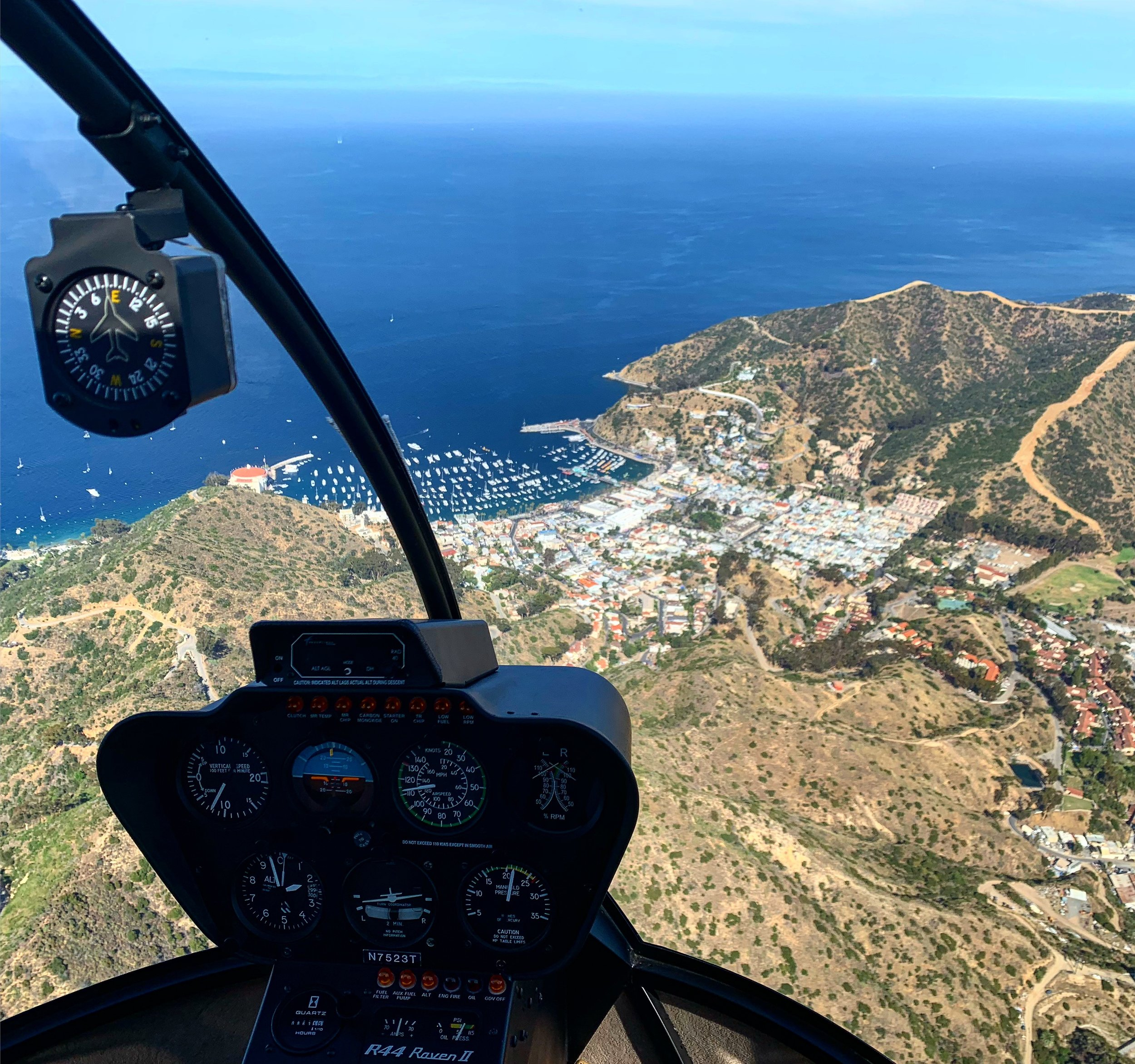 Catalina Island Helicopter Ferry with Waverider Helicopter Tours