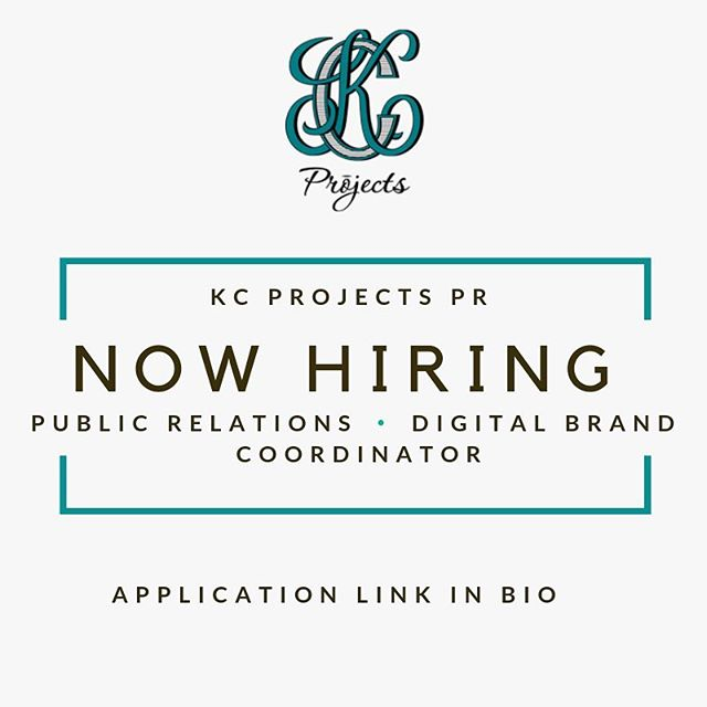 Want to work for a dynamic, trend setting PR firm? We are now hiring a public relations and digital brand coordinator! Apply using the link in bio!