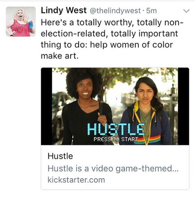 #throwback to when the amazing @thelindywest shouted out our campaign!  And as an update: we are currently in post-production for season 1! 🍰We've signed on the lovely @brooksallison for scoring and Megan Praz for animation! WOW