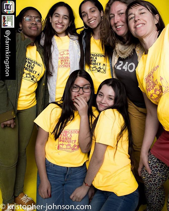 Another great shot featuring the Farm Crew and Cooking Crew from the International Day of Happiness Dance Party!🕺Love to see so many smiling faces wearing yellow and dancing the night away! #Optimism #INTOyellow #IDoH • Reposted from @yfarmkingston / photo credit to @kristopherjohnsonphotography