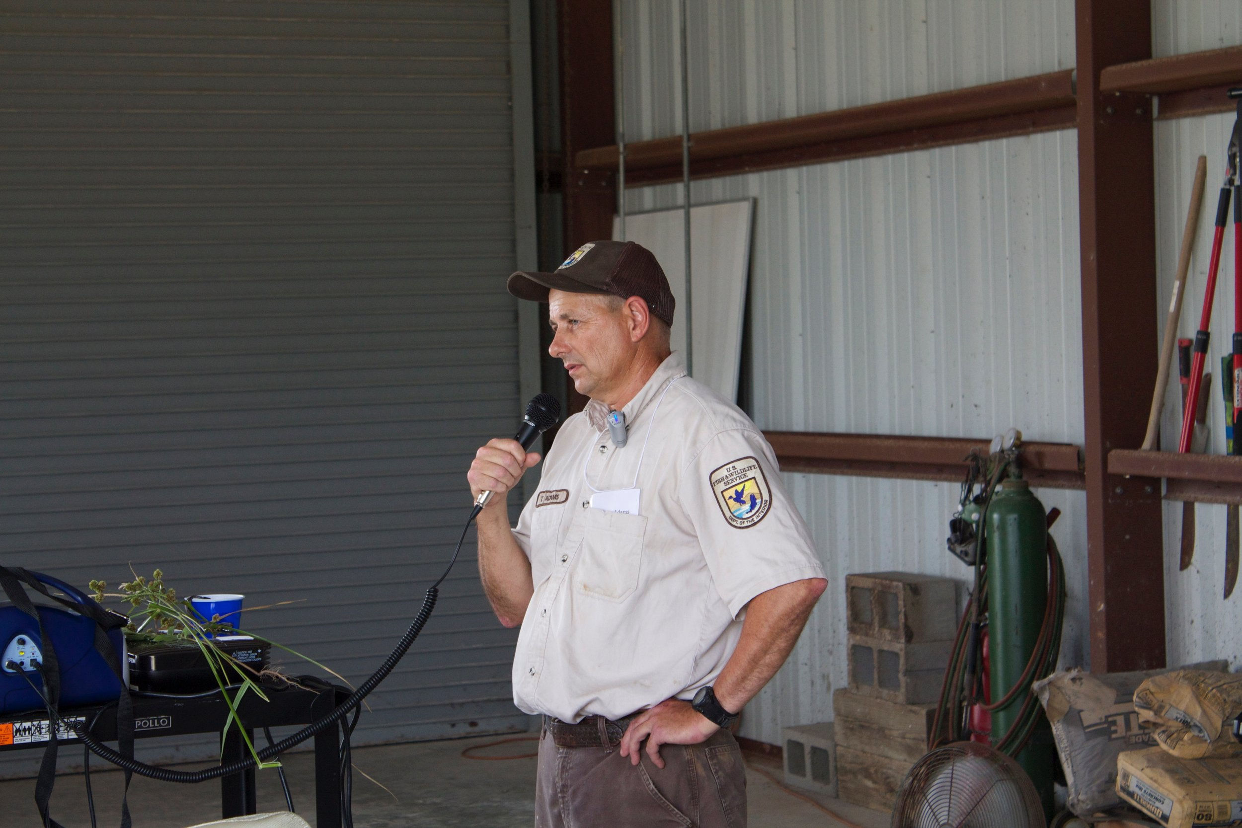 Thomas Adams, U.S. Fish & Wildlife Service