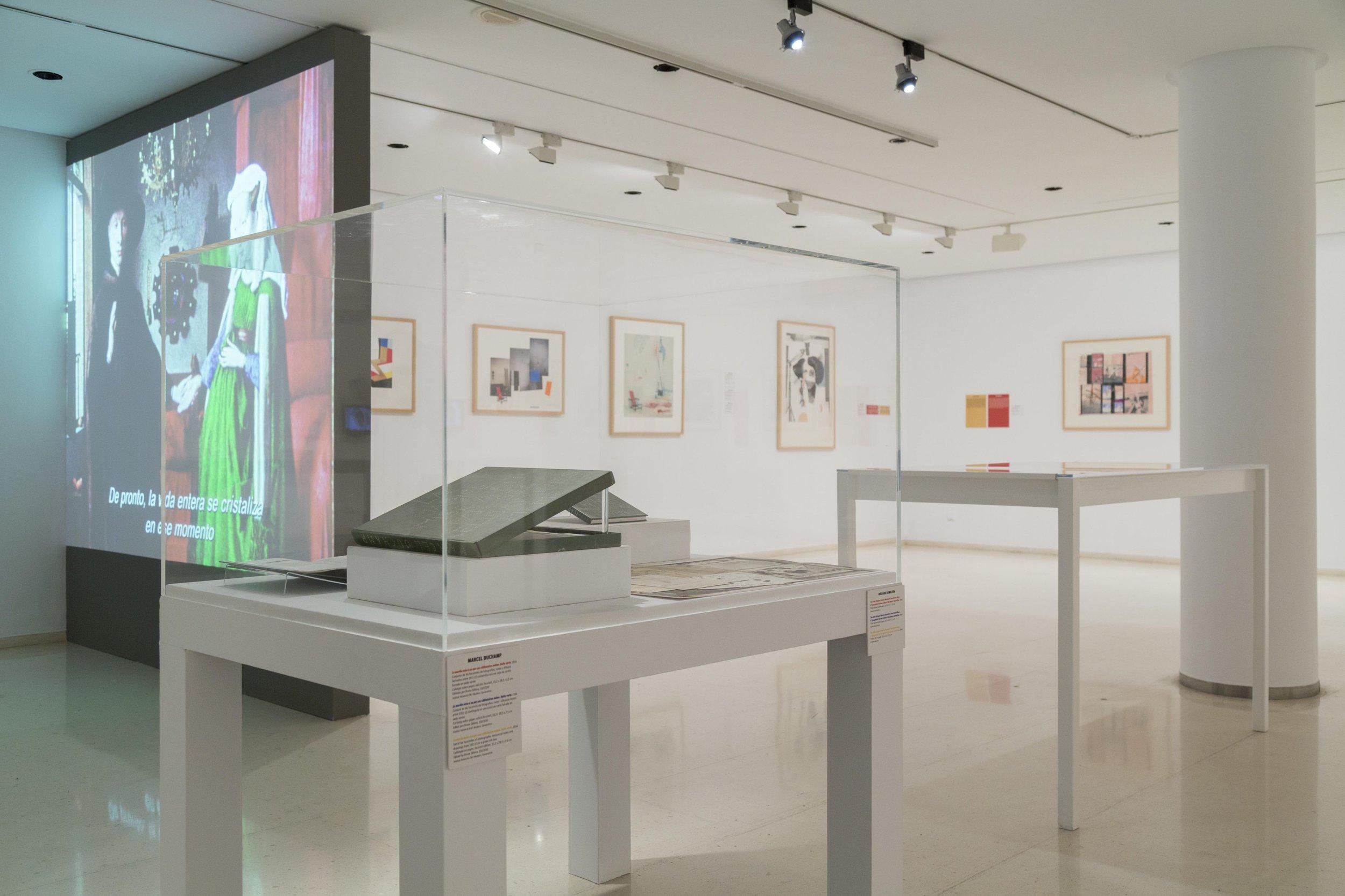"""Casos De Estudio: Richard Hamilton"" at the  Instituit Valencià d'Art Modern  in Valencia, Spain"