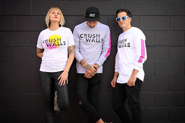 Support Crush Walls and snap up your merch at the @rinomade art store & now online! Click direct link in our bio! 📸 by @jstolzenbach
