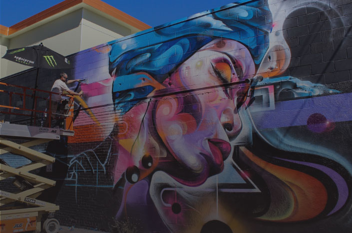 THE WALLS - Each year, CRUSH takes over the RiNo neighborhood, transforming the area into a canvas like no other. Come see the before, during, and the after as graffiti and street artists from around the world bring the walls of RiNo to life!