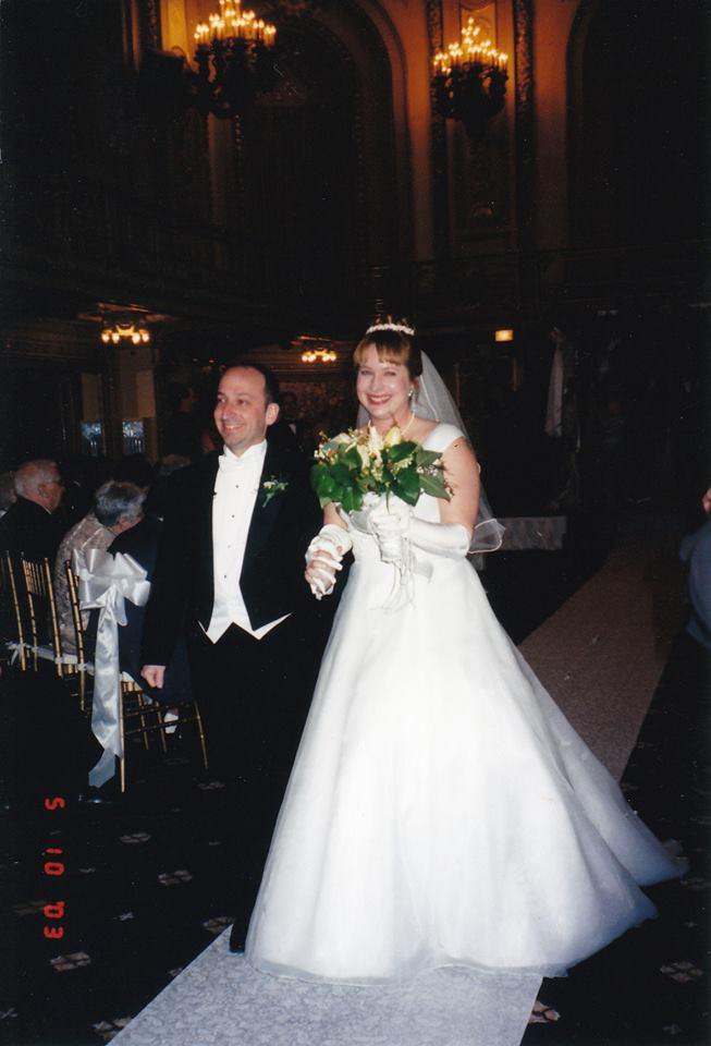 Marlise and Paul Fein_Wedding, May 10, 2003.jpg