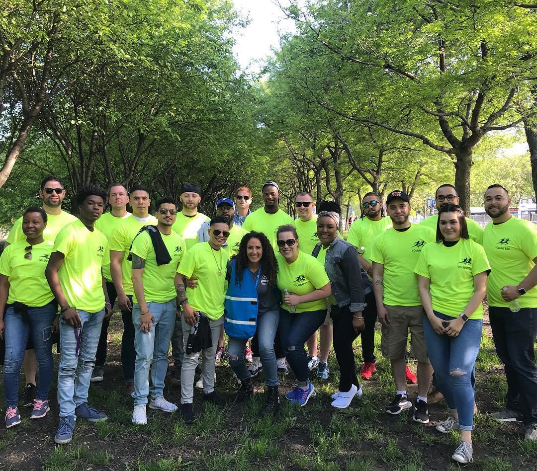 Running Events - Start Line Volunteers