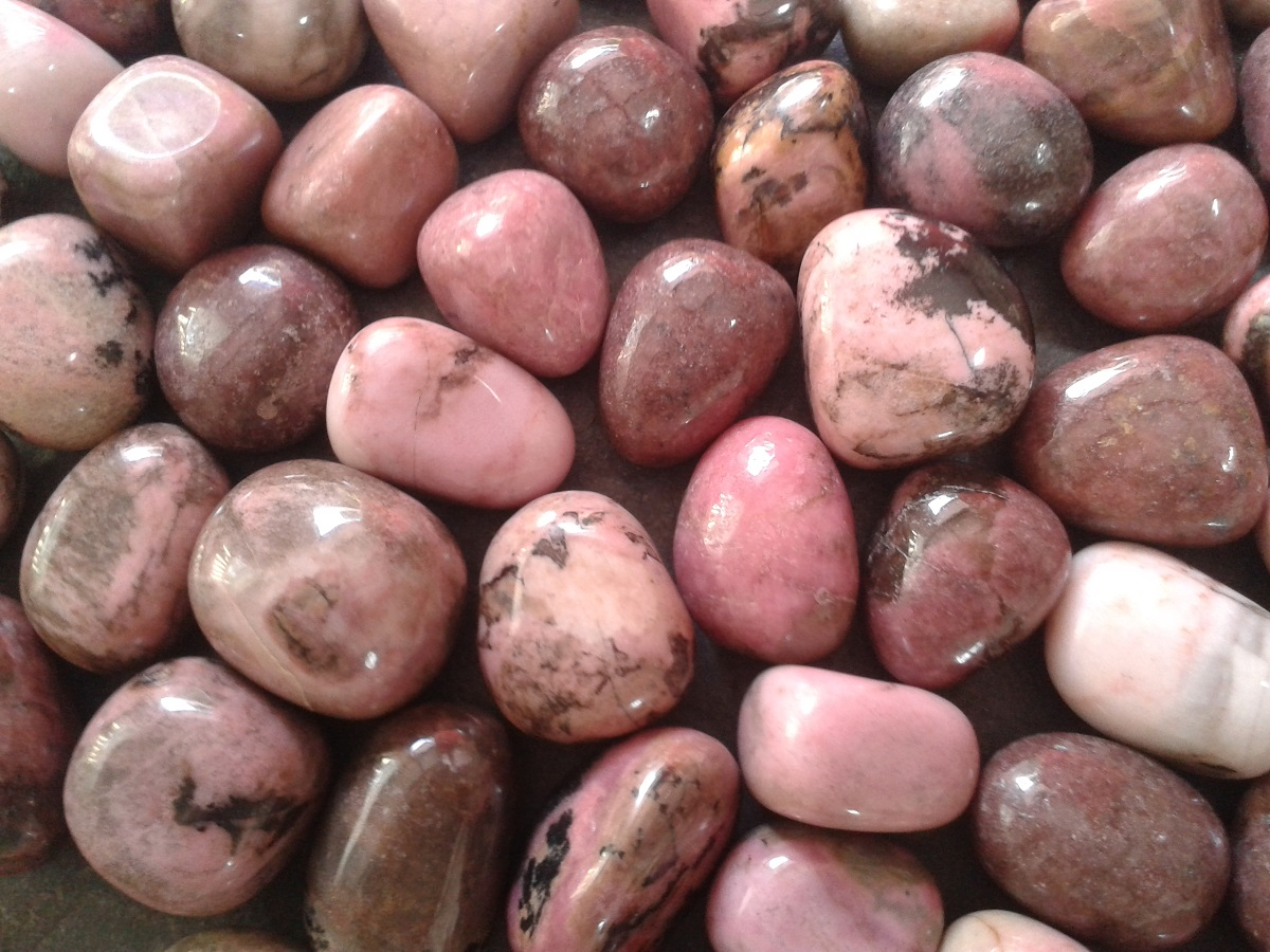 RHODONITE - for grounded love and support