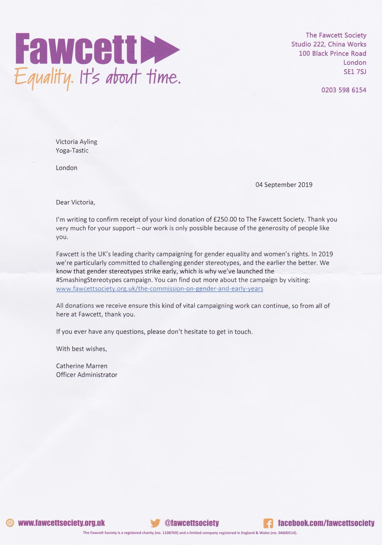 Thank you Letter from Fawcett.jpg