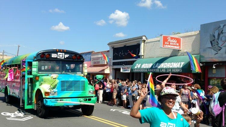 The Durham Pride Parade
