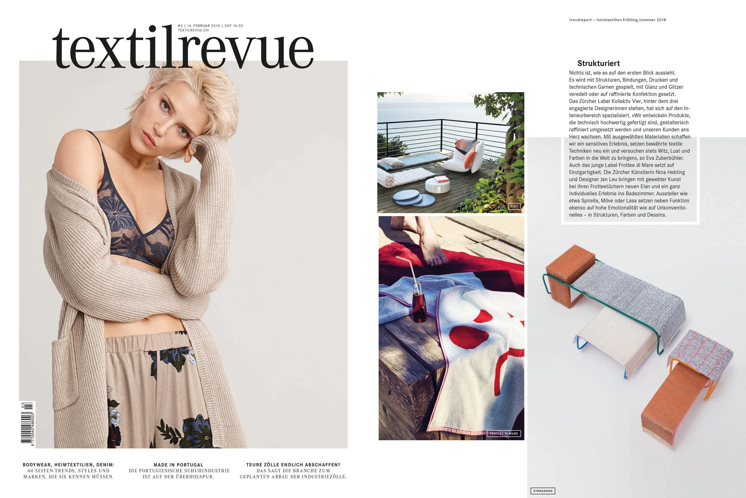 Textilrevue – 16. Feb 2018