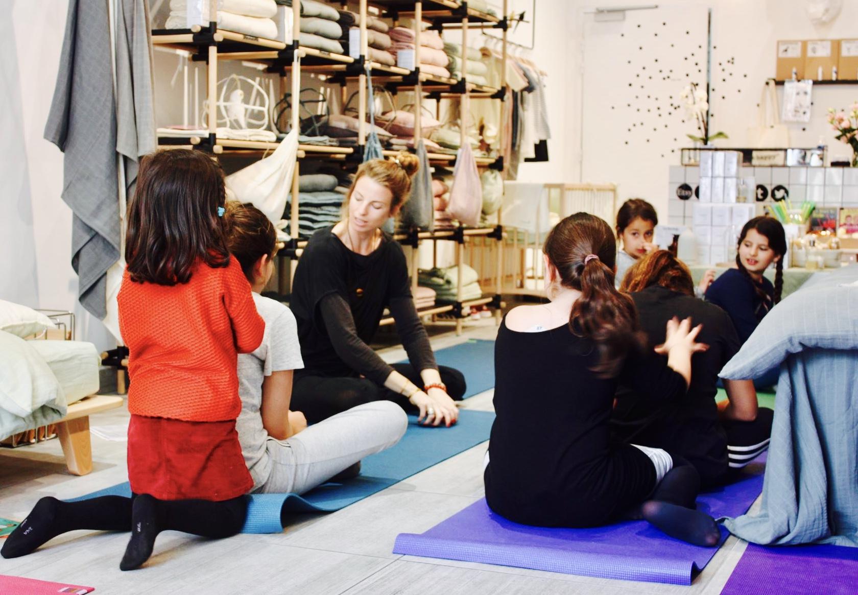 Atelier Yoga à La Langerie