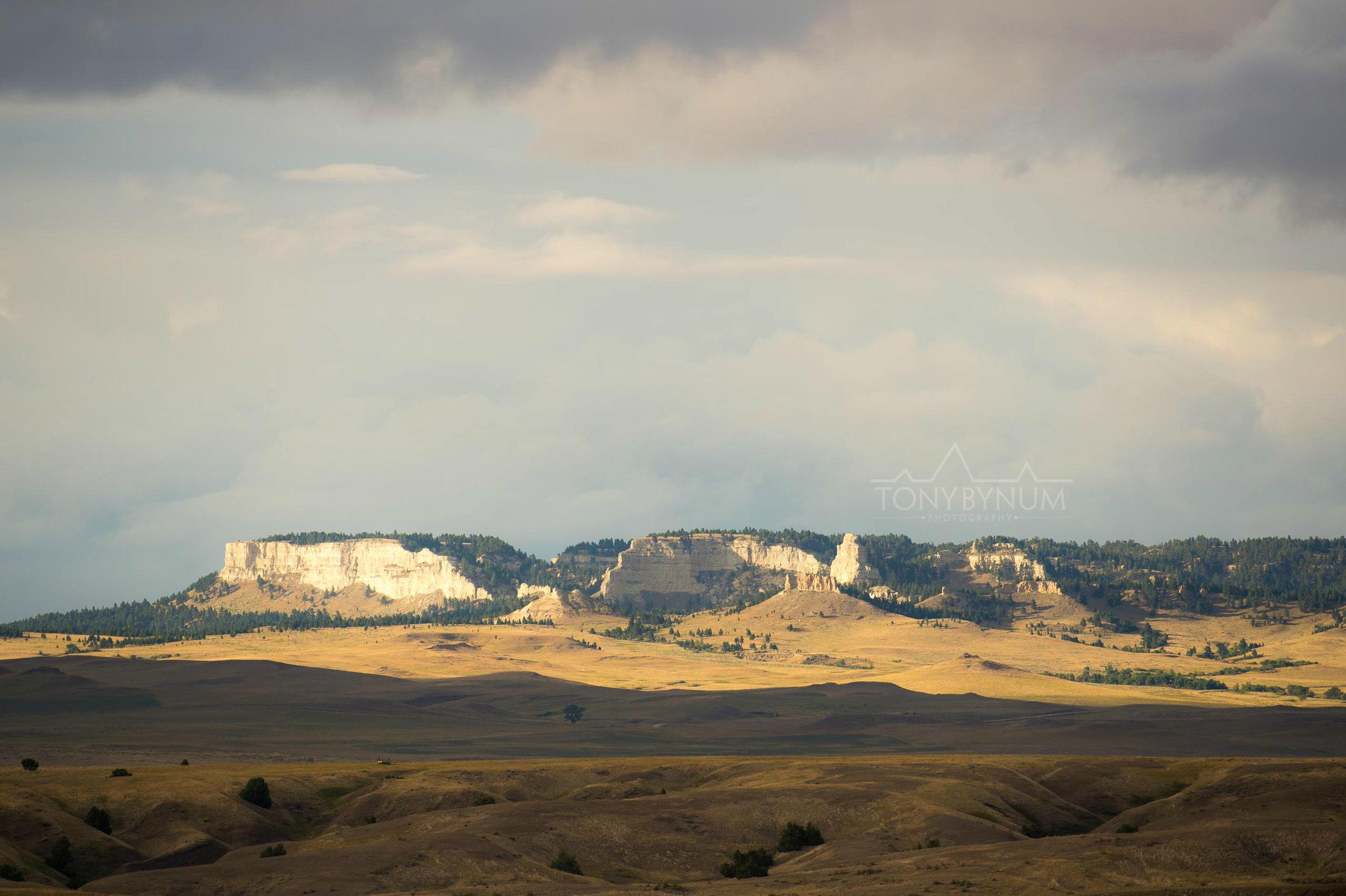 Buttes on the Montana Prairie