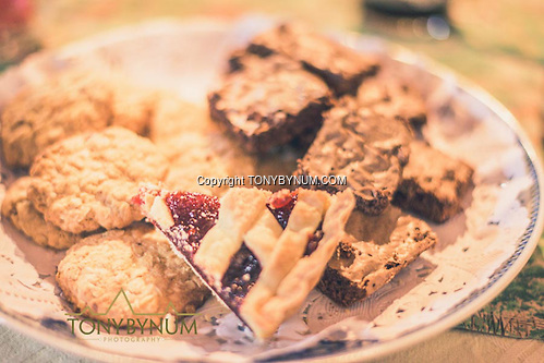 Home made cookies, brownies, and pie are always available, night or day at the Los Molles Ranch. La Pampa, Argentina ©tonybynum.com