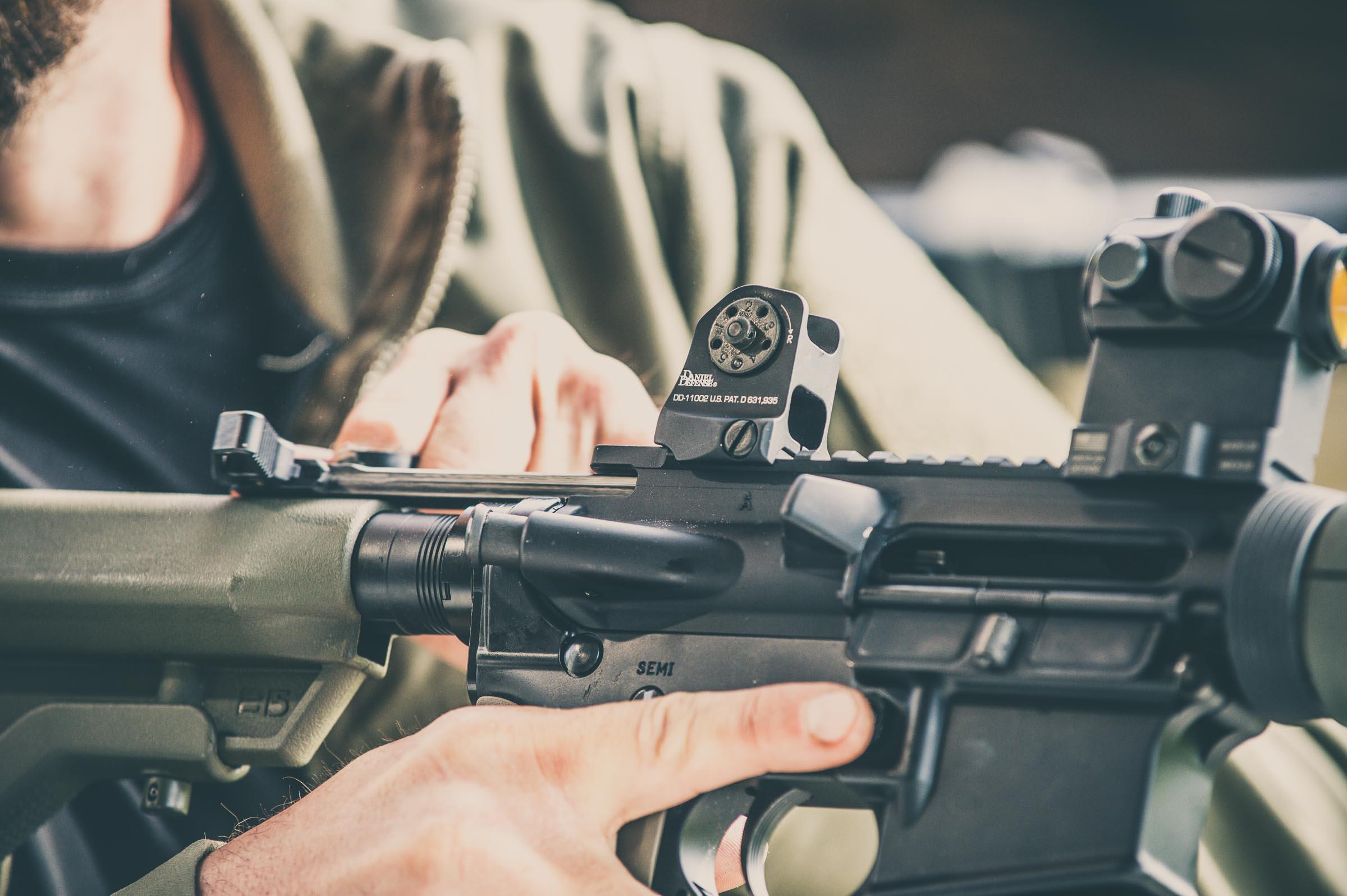 AR 15. © Tony Bynum