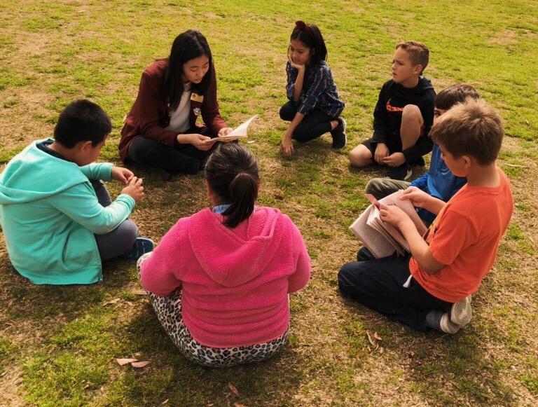 wholesome volunteering: reading to children! <3