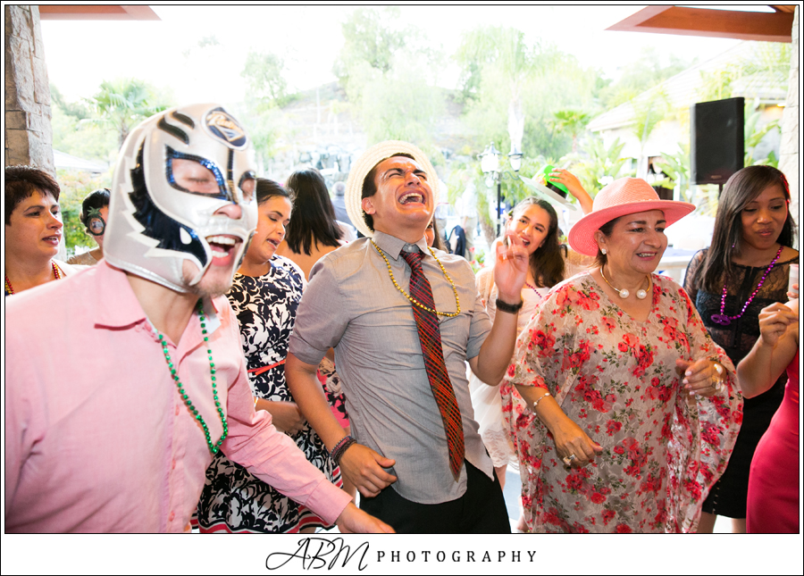 You really don't see enough Lucha Libre masks at weddings these days, do you?