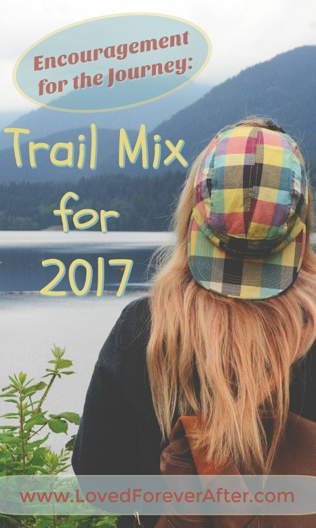 Encouragement for the Journey - Trail Mix for 2017