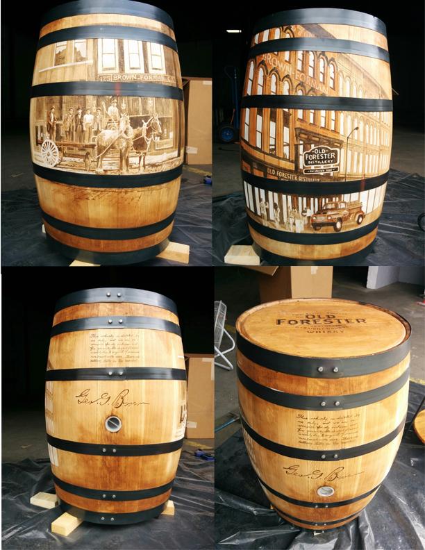 Old Forester Barrel