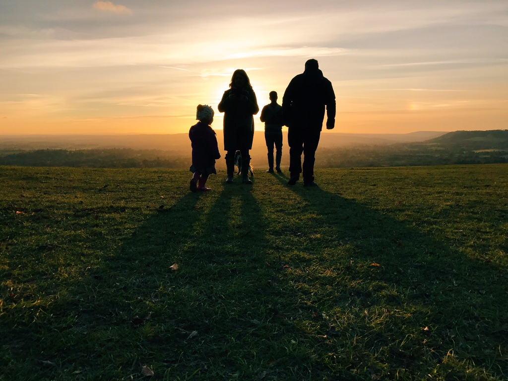 Reigate-hill-sunset