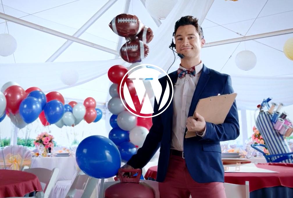 Wordpress SuperBowl Commercial