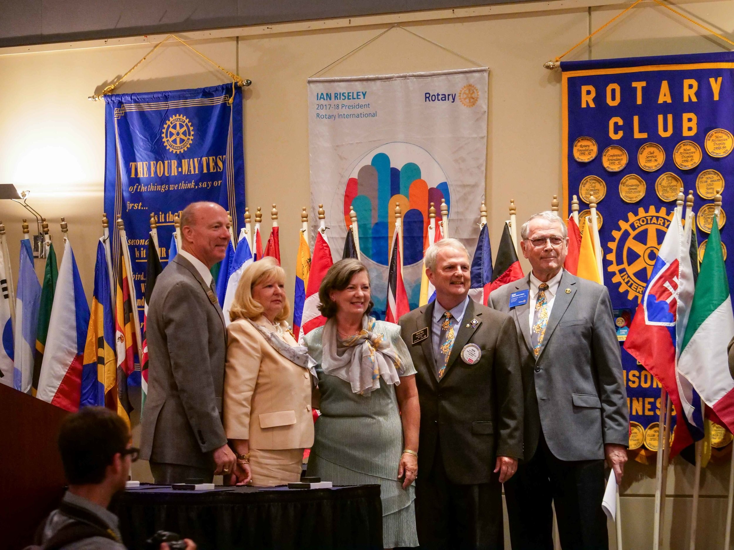 Thank you to LaShonda Delivuk of The Rotary Club of Lynchburg Morning for these GREAT pictures!