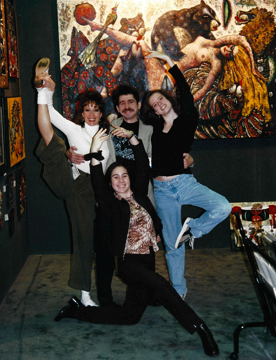 Andrei Protsouk's First ArtExpo in New York City in 1997