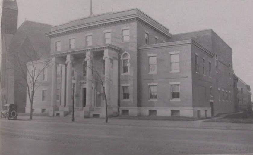 The Cambridge Masonic Temple in 1919