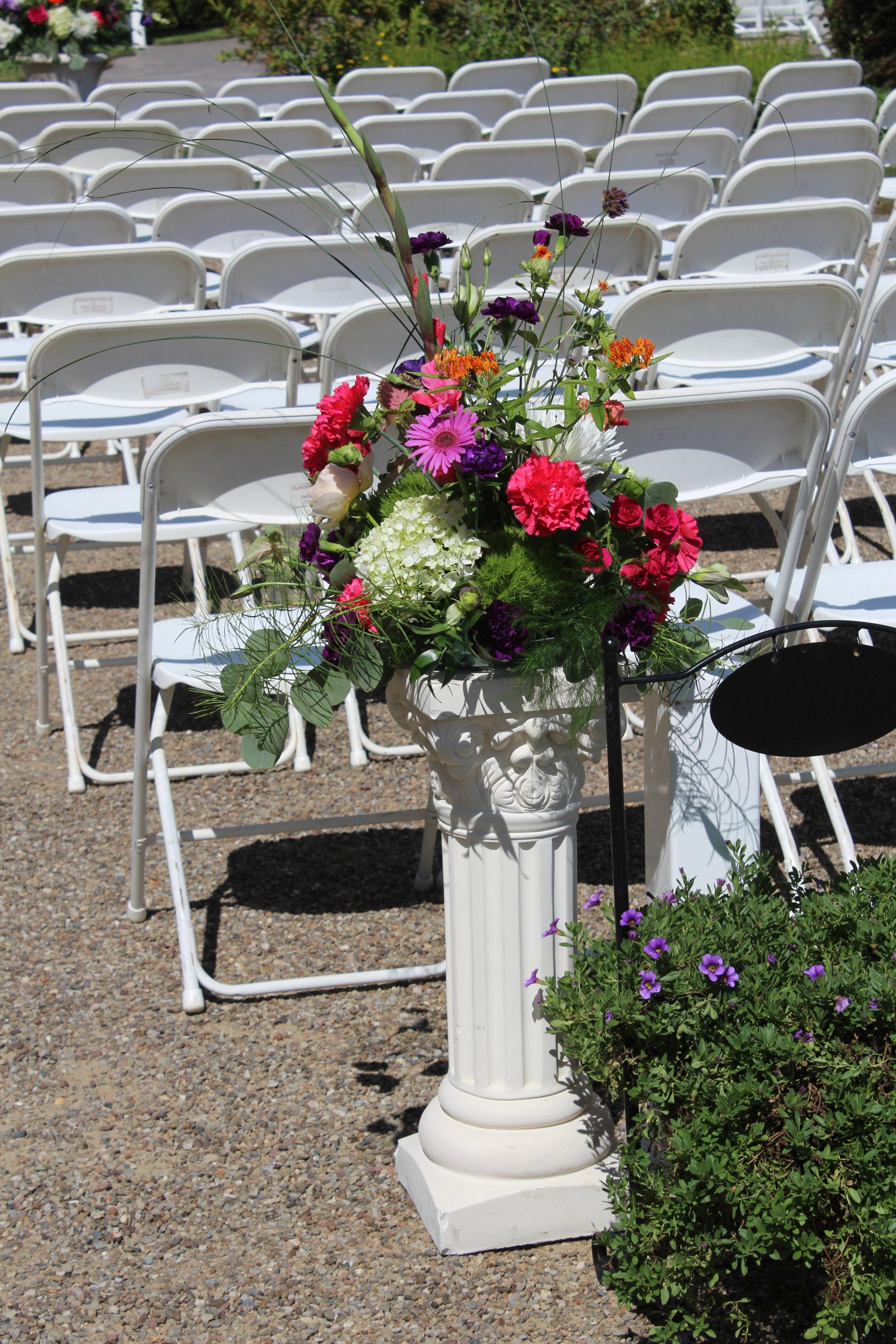 bloom brigade florist - wedding ceremony