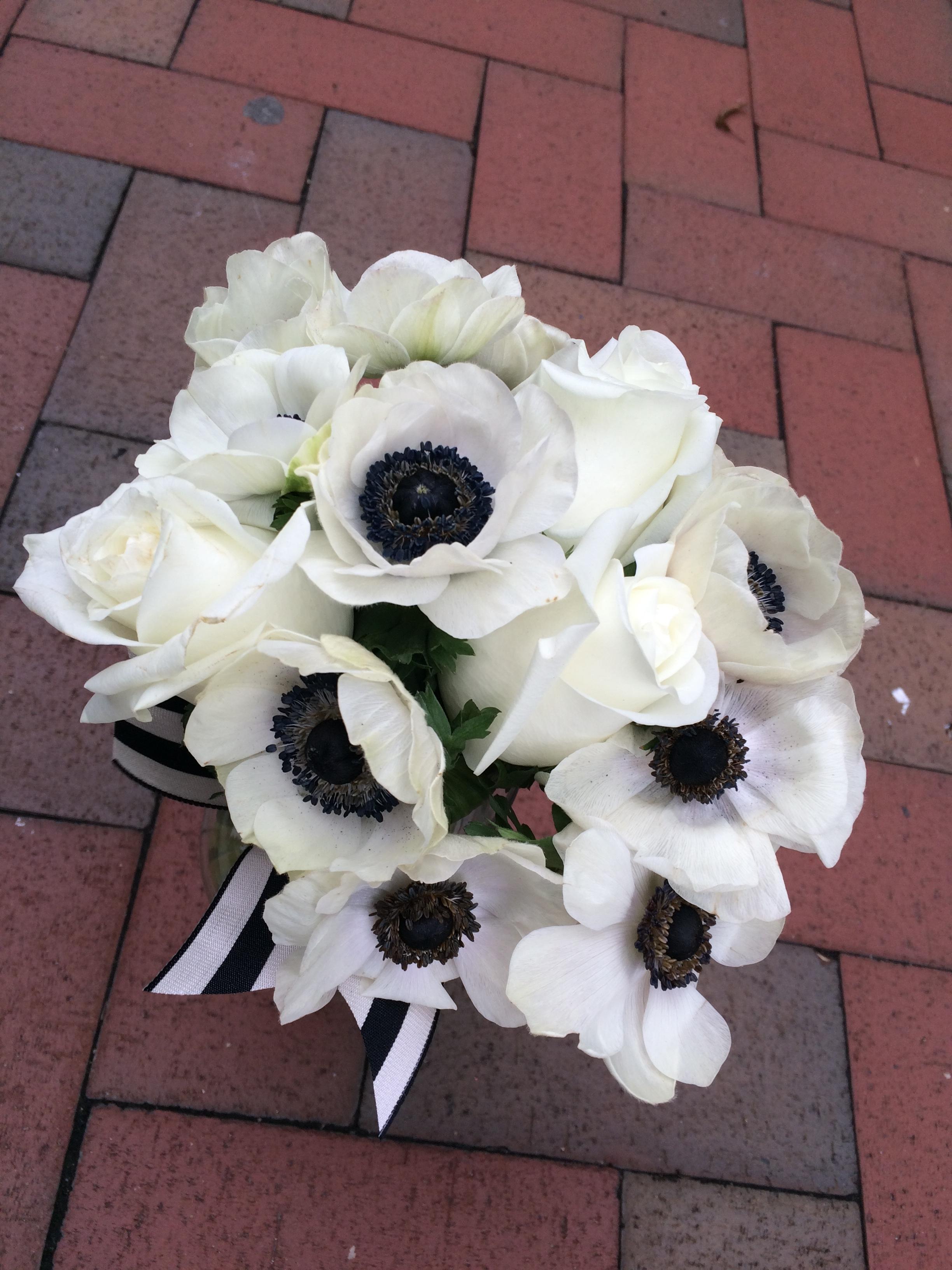 bloom brigade florist - wedding bouquet