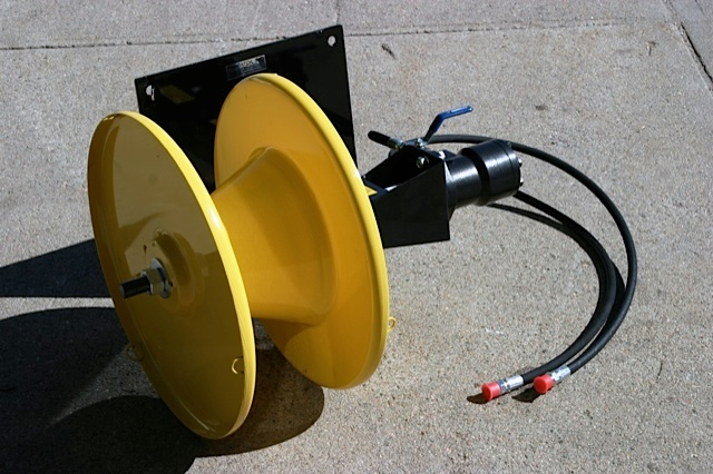 This is a great option for the customer that wants to mount the winder to something other than the usual tractor or standard power source that we normally see.