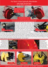 High Tensile reel specs & information