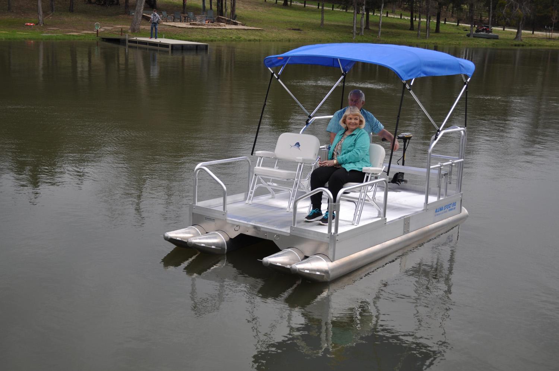 Pontoon Boats Hotwoods
